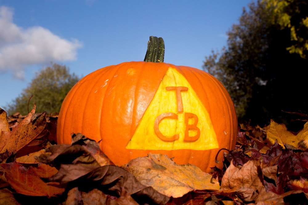 TCB's own personalised pumpkin