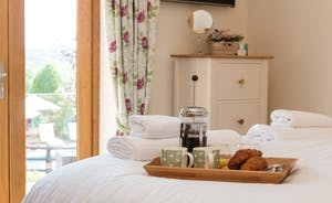 Foxhill Lodge - Lazy mornings - just what holidays are all about
