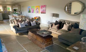 Catch up or cosy up there is plenty of space in the living area of your accommodation.