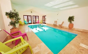 Thorncombe - Somerset - Sleeps 14 in a luxury lodge with private heated indoor pool