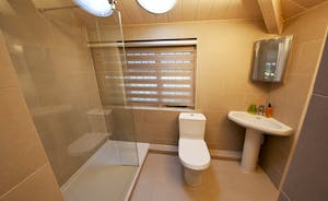 The Benches -  The modern en suite shower room for Bedroom 3