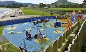 Cushendall beach and play park