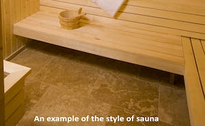 Croftview - The spa hall has the luxury of a sauna