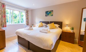 Cockercombe - Bedroom 3; comfortable, light and airy