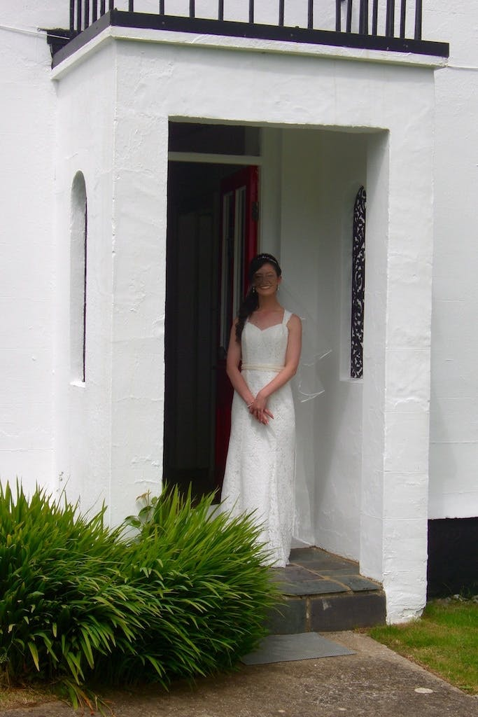 Wedding at Bodfan, Anglesey