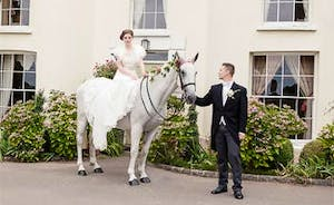 Bring Your Horse To Your Wedding!