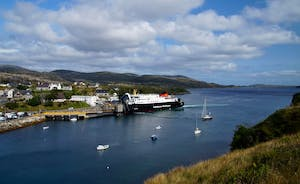 'Hebrides' Car Ferry at Tarbert, Harris.