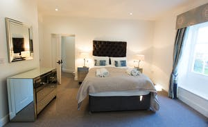 Pitmaston House - Bedroom 5 is double aspect and has a lovely en suite shower room