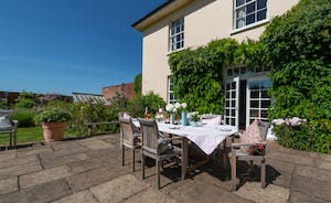 Asham House - Spend warmer days on the terrace, happy together