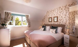 The Cottage Beyond: Bedroom 5, all rooms can be made up as two singles or a super king bed.
