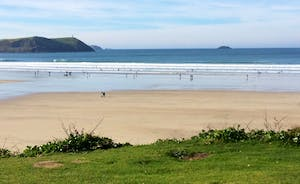 Polzeath Beach - Low Tide