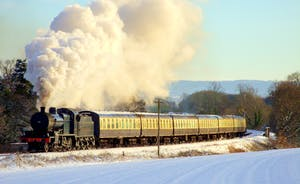 Full Steam Ahead For The Santa Express
