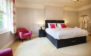 Sandfield House - Bedroom 1 is spacious, bright and modern