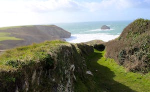 Coastal Path from Treknow to Trebarwith