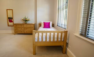 Sandfield House - Bedroom 5 is great for a family with a young child as there's an extra single bed