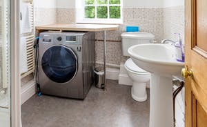 Downstairs Bathroom/Utility Room