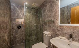 Kingshay Barton - Bedroom 8 (Warren) has its own en suite shower room