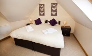 Crowcombe - Bedroom 5 is the smallest room and has an en suite shower room