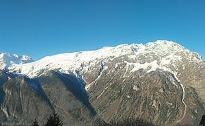 Panoramic from the top of Pic Blanc