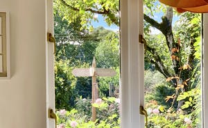 The Cottage Beyond: The kitchen has the best view of the bird table