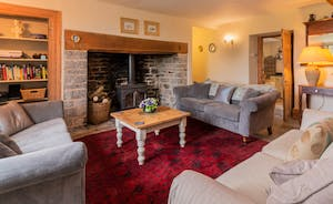 Classic Drawing room elegance with inglenook fireplace