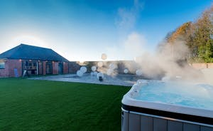 Hesdin Hall - A dip in the pool or a soak in the hot tub?