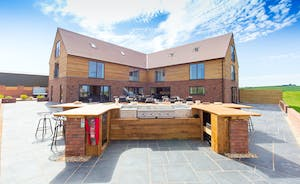 The Granary - There's an amazing outdoor kitchen for those warmer days