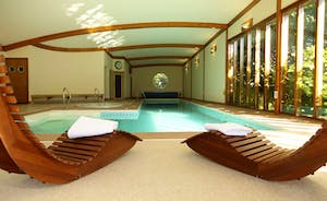Architect designed Spa Hall that no photo can do true justice to. Everyone is blown away by it's size and beauty.