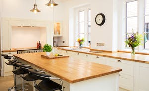 The Old Rectory - A spacious and fully equipped kitchen with all you need to rustle up a celebratory feast