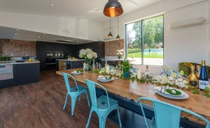 Churchill 30 - The enormous open plan living space is brilliant for gathering together