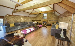 Beaverbrook 30 - Plenty of seating for movie nights in the home cinema room