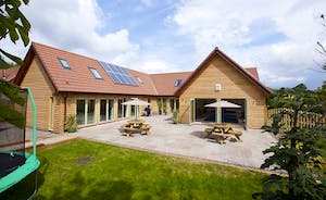 Crowcombe -  Luxurious timber clad lodge at the foot of the Quantock Hills in Somerset
