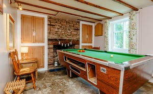 Harmony Cottage Games Room