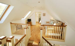 Flossy Brook - Next to Bedroom 2 is a gallery landing where 2 extra people can be accommodated