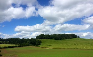 Croftview - The views are of wide open fields and wooded hillsides