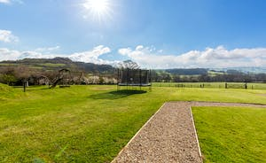 Siskins Nook, Stonehayes Farm: 15 acres of shared grounds with a children's play area