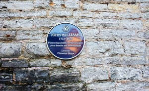 Pitmaston House - The property has a blue plaque - testimony to it's heritage
