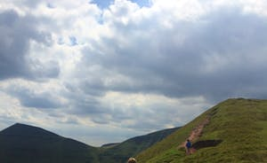 Trekking up Pen-y-Fan - the highest peak in South Wales