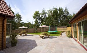 Crowcombe -  There's plenty of room for al fresco dining on the patio