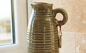 Pottery in the kitchen