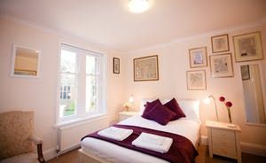 Master bedroom in Abbey Court
