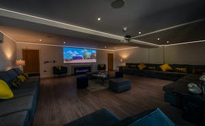 Churchill 30 - The cinema room sets the scene for snuggly movie nights