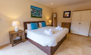 Thorncombe - Bedroom 1 is on the first floor; light and airy, with an en suite shower room