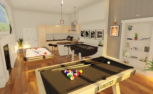 Pitmaston House - From Sept 2021 there will be a games room with a pool table, table football and air hockey