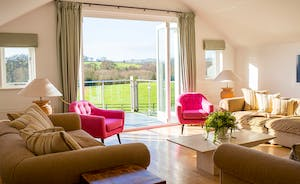 Fuzzy Orchard - Just imagine relaxing in the bright and airy living room, the French doors open, balmy fresh air coming in...