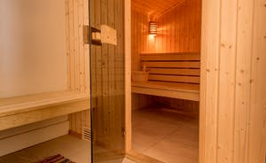 Pound Farm - The luxury of a sauna too!