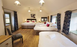 Beaverbrook 20 - Bedroom 1 sleeps 2 but can sleep 3 more people at an extra charge