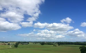 Croftview - Far reaching views across the 1,200 acre private estate - with walks right from the doorstep