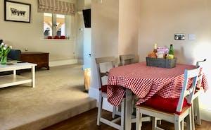 Through Kitchen & Living Area