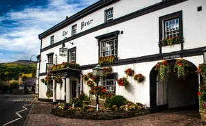 The Bear Hotel in Crickhowell - worth a visit
